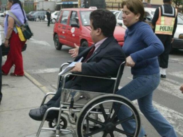 Defensoría invoca mejorar acceso al transporte para personas con discapacidad