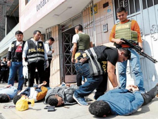 SMP: advierten que asaltantes de casa de apuestas serían de peligrosa banda criminal de Venezuela