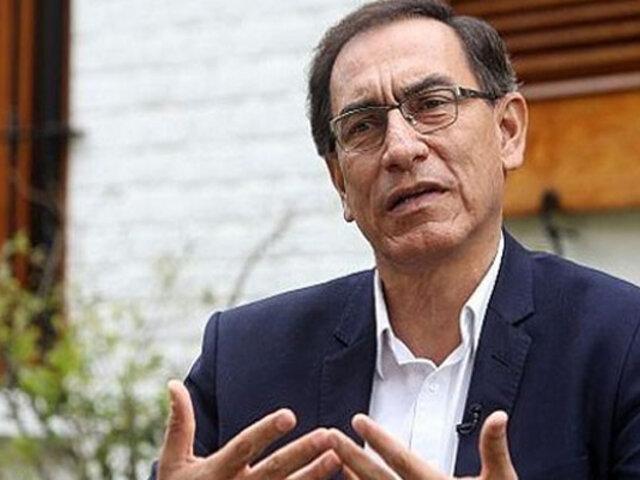 Martín Vizcarra: OEA constatará transparencia de elecciones parlamentarias