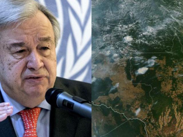 Incendio en Amazonas: ONU expresa preocupación por daño ambiental