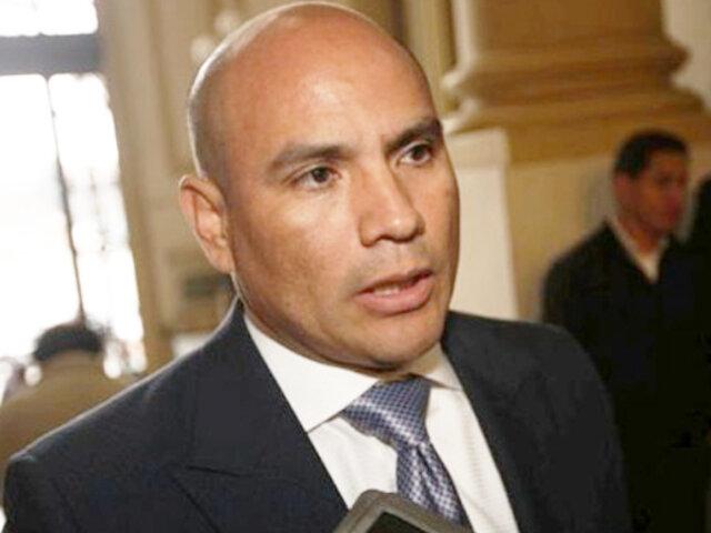 Ministerio Público solicitó seis años de prisión para Joaquín Ramírez