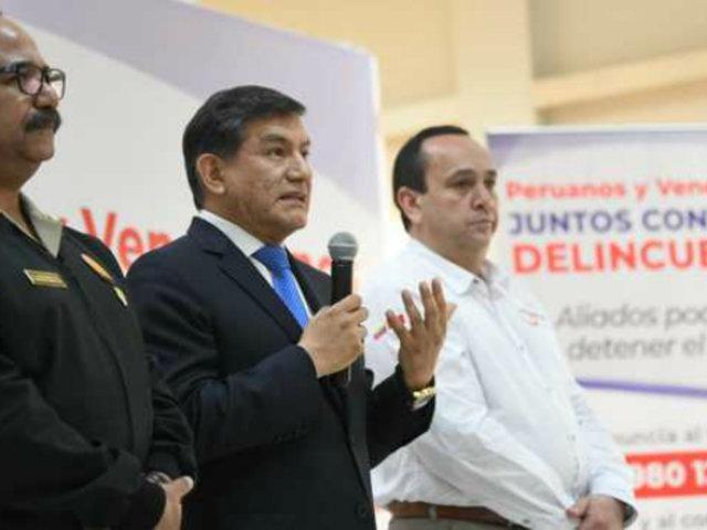 Mininter y Unión Venezolana firman acta para combatir la delincuencia