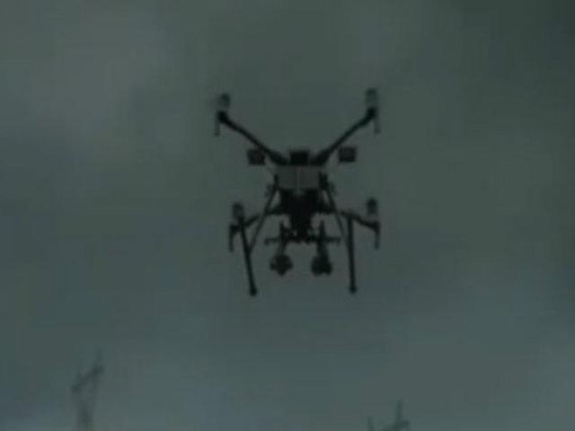 Drones ayudan a combatir incendio en la Amazonía