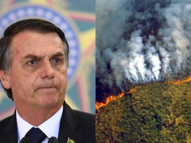 Francia e Irlanda cancelarán acuerdo económico con Brasil si Bolsonaro no protege el Amazonas