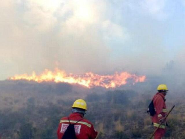 Madre de Dios: gobernador pide declarar emergencia ambiental tras incendios