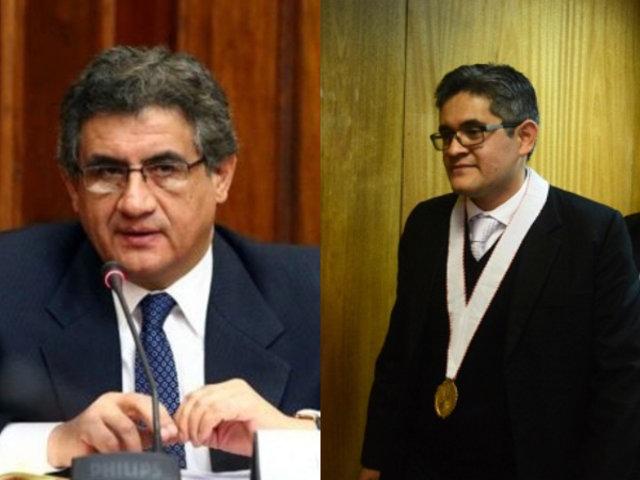 Sheput arremete contra fiscal Domingo Pérez y lo tilda de irresponsable