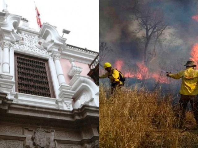 Incendio en la Amazonía: Perú expresa disposición a cooperar para mitigar daños