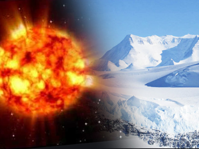 Descubren restos de una supernova en la Antártida