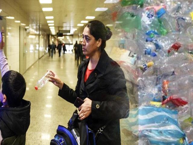 Ecuador: botellas de plástico se cambian por pasajes de bus en Guayaquil