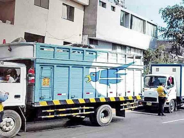 La Molina: empezaron a restringir circulación de vehículos de transporte de carga pesada