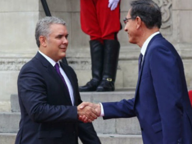 Martín Vizcarra sostendrá encuentro con Iván Duque en el V Gabinete Binacional
