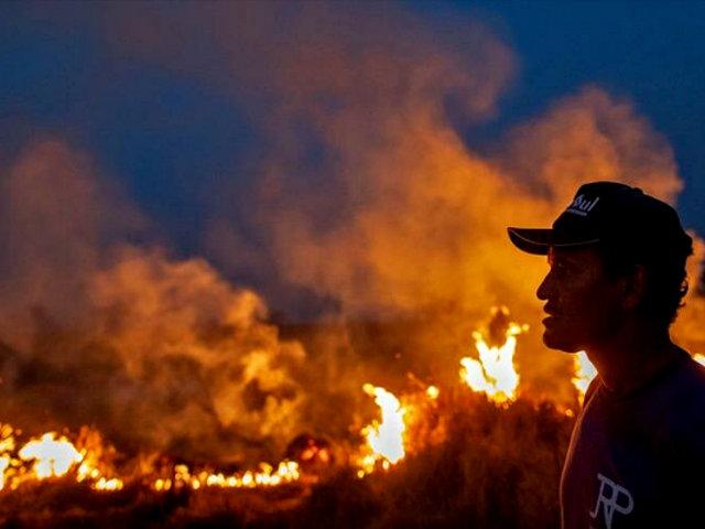 Banco Mundial donará medio millón de dólares para controlar incendio en la Amazonía