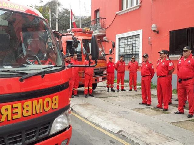 Japón donó unidades móviles de emergencia a Bomberos del Perú