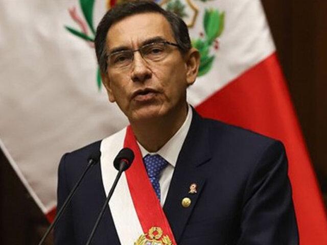 Martín Vizcarra: aprobación del mandatario sube y alcanza 79% de aprobación, según Ipsos