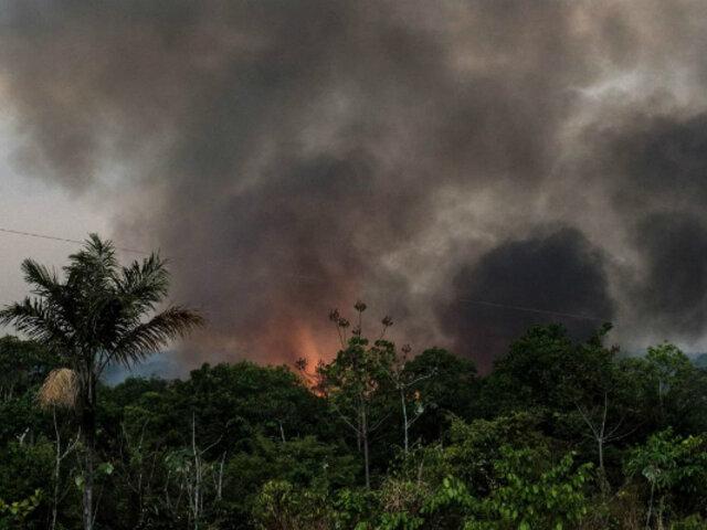 Indeci pide intervención del Ministerio Público tras incendios forestales