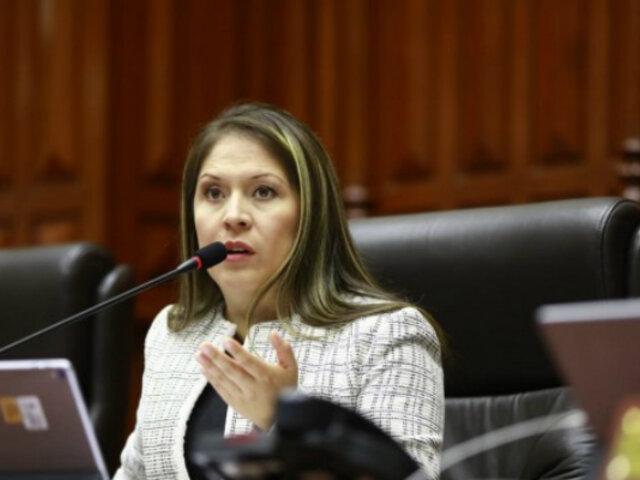 Vilcatoma: quiero ser candidata pero no por eso voy a hacer que las elecciones sean el 2020