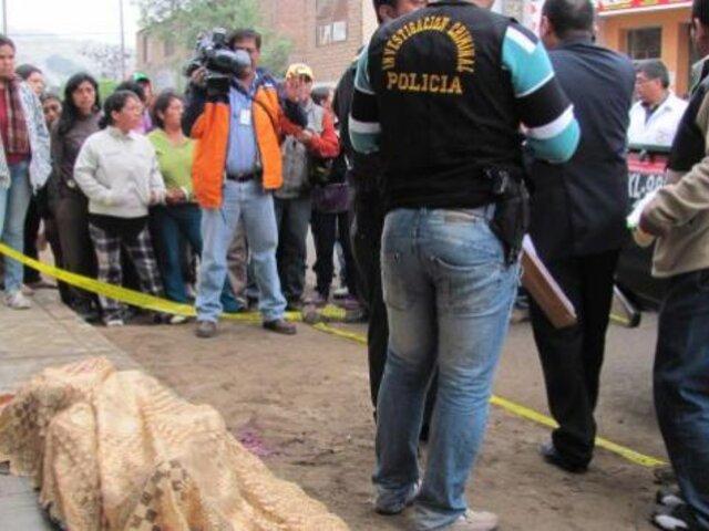 Ventanilla: joven asesinó a su enamorada embarazada dentro de vivienda