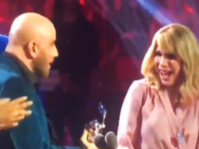 John Travolta confundió a Taylor Swift con una drag queen