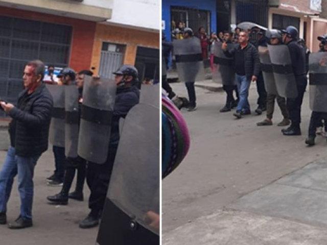 """Ambulantes de Los Olivos sobre enfrentamientos: """"Urresti viene con sus matones y nos atacan"""""""