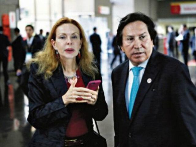 EEUU halla más de millón y medio de dólares en cuentas de Toledo y Karp, según Perú 21
