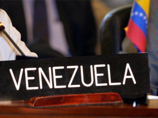 OEA aprueba resolución de condena a violaciones de los derechos humanos en Venezuela