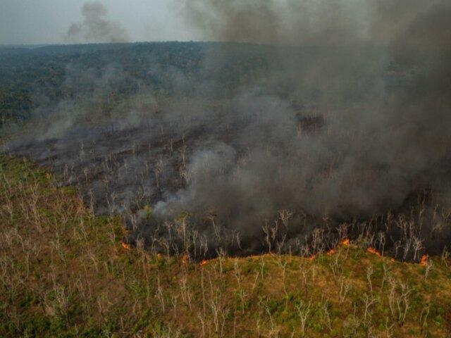 Incendio en la Amazonía: mira las dramáticas imágenes del siniestro
