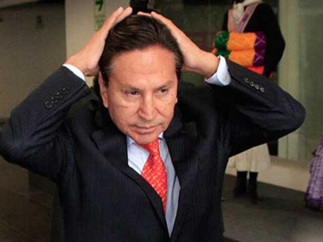 Alejandro Toledo: hoy verán apelación presentada por su defensa