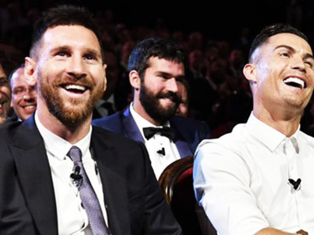 Lionel Messi y Cristiano Ronaldo, mostraron su admiración del uno por el otro