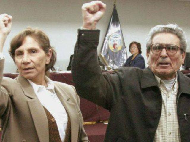 TC rechazó hábeas corpus para que Elena Iparraguirre visite a Abimael Guzmán en la Base Naval