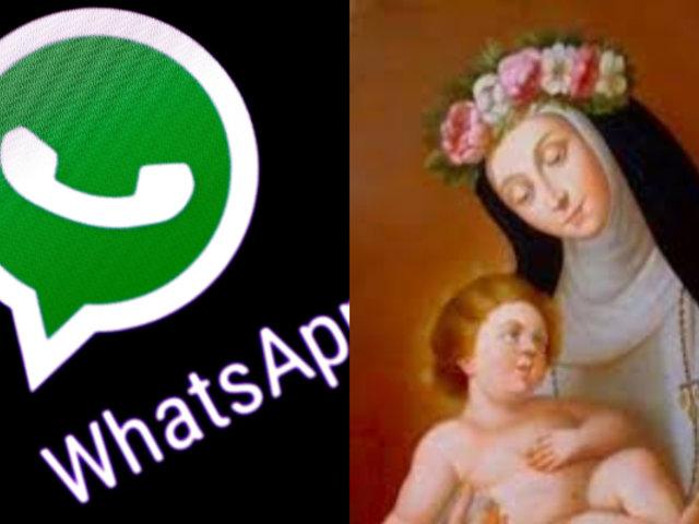 Santa Rosa de Lima: ahora puedes enviarle tus deseos por WhatsApp