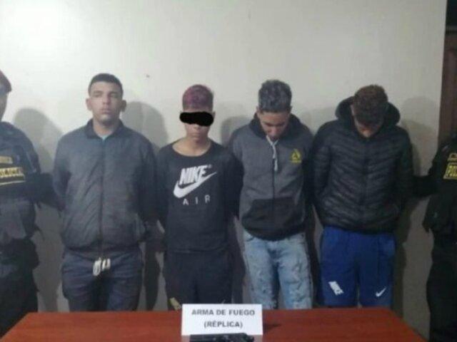 Ate: capturan a banda de extranjeros dedicada a robar mototaxis