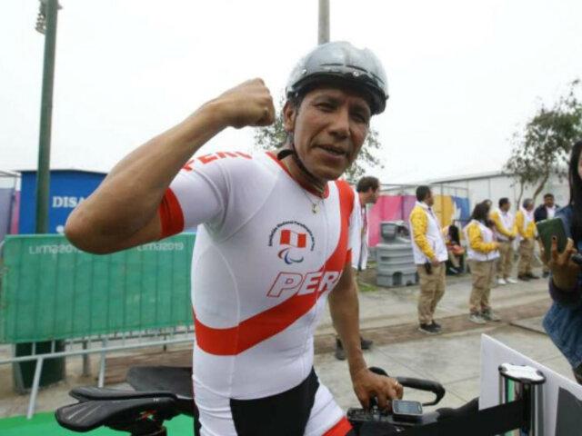 ¡Orgullo Peruano! Israel Hilario gana medalla de oro en los Juegos Parapanamericanos Lima 2019