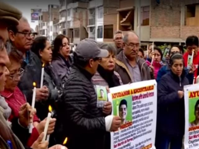 SMP: padres desesperados denuncian que su hijo lleva desaparecido siete días