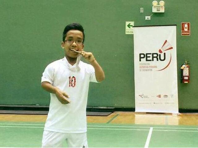 Lima 2019: Jesús Salvá obtuvo medalla de bronce en para bádminton