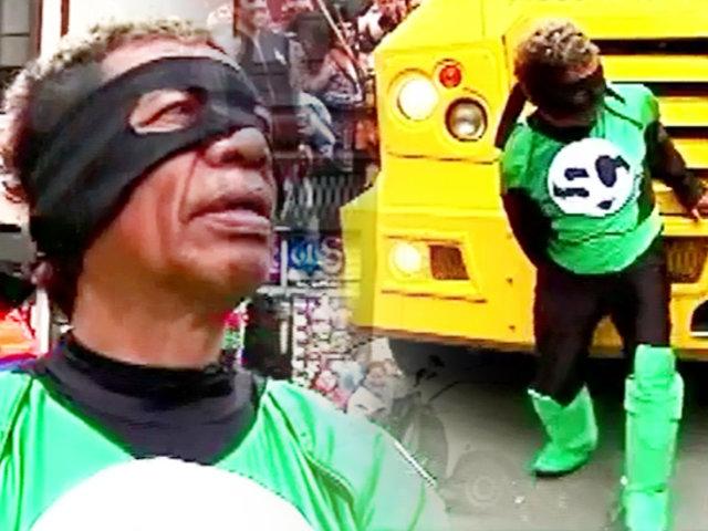 """""""SuperCachay"""": llega a la ciudad un nuevo héroe para imponer justicia y buen humor"""