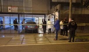 Miraflores: ladrones dejan tres heridos de bala tras robo de lujoso reloj
