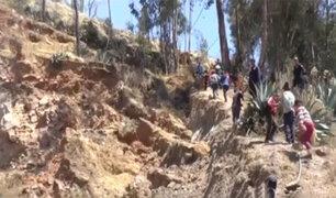 Áncash: pobladores de Yauya en peligro por falla geológica
