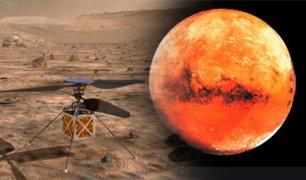 NASA enviará por primera vez un helicóptero a Marte
