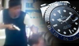 EXCLUSIVO | Relojes de lujo: tres heridos de bala por lujosos Rolex