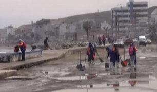 Trujillo: oleajes anómalos alertaron a la población de Huanchaco