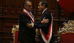 Martín Vizcarra y Pedro Olaechea dialogarán esta tarde en Palacio de Gobierno