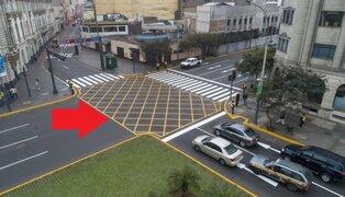 """""""No bloquees el cruce"""": MML lanza campaña para evitar bloqueo de intersecciones viales"""