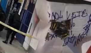 El Agustino: mafia coloca explosivo en negocio de hombre que se negó a pagar cupos