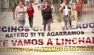 El Agustino: vecinos crean cuadrilla ´anti-choros´ y prometen linchar delincuentes