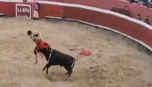 Cajamarca: torero César Bazán se salva de morir tras ser embestido en ruedo