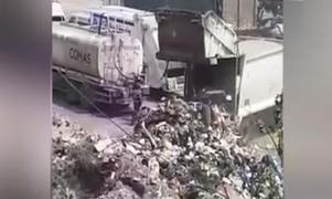 Comas: vecinos preocupados por gran cantidad de basura acumulada en depósito municipal