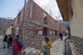 Cusco: paralizan construcción de vivienda sobre muro inca