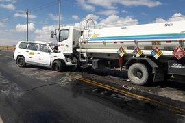Áncash: dos muertos y dos heridos deja choque en la vía Pativilca-Huaraz