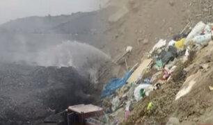 Alcalde de La Molina responde a vecinos afectados por quema de basura