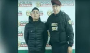 Chorrillos: detienen a delincuente que fumaba en la calle pese a tener arresto domiciliario